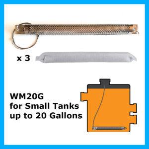 WaterMag 20 gallon kit - https://www.filtermagindustrial.com/watermag/